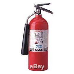 KIDDE PRO5CDM Fire Extinguisher, 5BC, Carbon Dioxide, 5 lb, 5.25dia