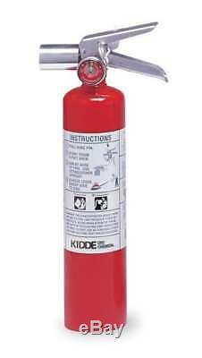 KIDDE PROPLUS2.5HM Fire Extinguisher, 2BC, Halotron, 2-1/2 lb, 15H