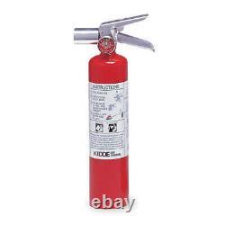 KIDDE PROPLUS2.5HM Fire Extinguisher, Halotron, BC, 2BC