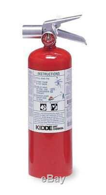 KIDDE PROPLUS5HM Fire Extinguisher, 5BC, Halotron, 5 lb