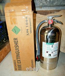 KIDDE Pro Plus 100K 6L Class K Wet Chemical Fire Extinguisher Full & Charged