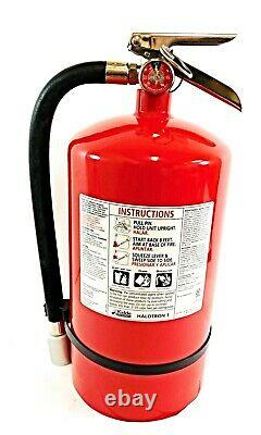 Kidde 466730 15.5 H Halotron Class ABC Fire Extinguisher 14 Sec. Discharge