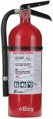 Kidde Pro Fire Extinguisher Commercial Residential Emergency 210 2-A10-BC 3 pk