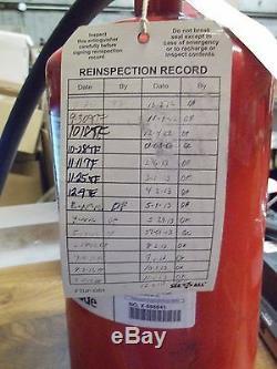 Kidde Pro Plus 11hm 466729 Halotron 1 Fire Extinguisher 1-a10-bc (rr2)