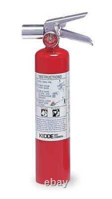 Kidde Proplus2.5Hm Fire Extinguisher, 2BC, Halotron, 2.5 Lb