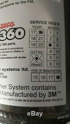 Lifeline Firemarshal Zero 360 3.0Kg Mechanical Fire Extinguisher Kit