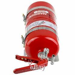 Lifeline Racing Firemarshal Mechanical 4.0L Steel Bottle Fire Extinguisher Kit