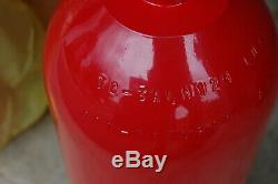 Lot 44 Luxfer Gas CO2 Aluminum L6X Fire Extinguisher 10lb Non-Shat Cylinder Tank