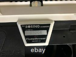 NEWINBOX The Boring Company Not-A-Flamethrower + Fire Extinguisher + $5 letter
