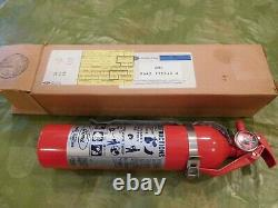 NOS Ford fire extinguisher and mounting bracket NOS in the BOX! Nice show piece
