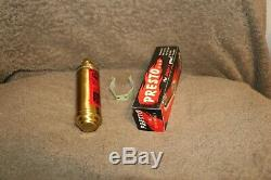 NOS Harley Davidson Knucklehead Panhead Fire Extinguisher Accessory
