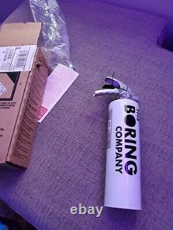 New in Box The Boring Company Fire Extinguisher Not A Flamethrower
