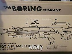 Not-A-Flamethrower The Boring Company not a flamethrower & Fire Extinguisher