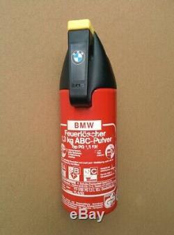Original Genuine BMW OEM Fire Extinguisher + Holder NLA E30 E23 E24 E28 M3 M5