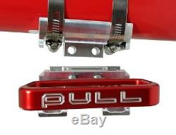 Over Rev Quick Release Stainless Band Fire Extinguisher Flat Mount 4H Aluminum