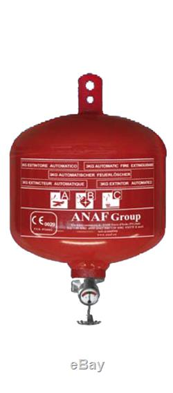 Powder Automatic fire extinguisher 3Kg #FNI1213303 Nautiline FNI1213303 842797 A