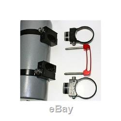 Quick release fire extinguisher mount with 2lb extinguisher X3 1.85 Clamps