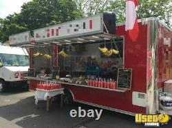Ready to Serve 2017 8' x 20' Food Concession Trailer/Crepe Trailer for Sale in N