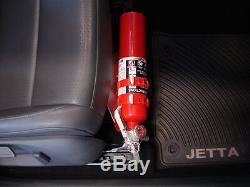 Rennline 06+ Golf/jetta/rabbit Mk5/mk6 Manual Seats Fire Extinguisher Mount Silv
