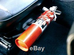 Rennline 1965 1998 911/964/993/944 Power Seats Fire Extinguisher Mount Black