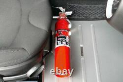 Rennline FE06 BLACK Fire Extinguisher Mount