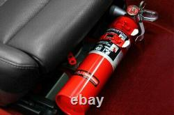 Rennline Red Dry Chemical Fire Extinguisher & EZ Adjust Mount Package