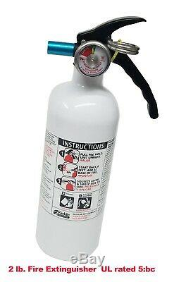 SMD QUICK RELEASE WithCLAMP + FIRE EXTINGUISHER 2LB