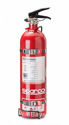 SPARCO 01496BAL Lightweight Manual Fire Extinguisher Red for Rally Racing