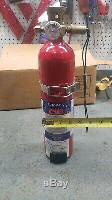 Sea Fire FG-100A 3 1/2 ×16inch Marine Boat Automatic Fire Extinguisher
