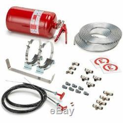 Sparco 014772MSL Fire Extinguisher Suppression System 4.25 L Bottle FIA Approved