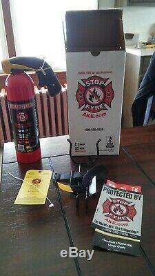 StopFyre HCSF fire extinguisher