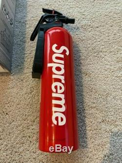Supreme X Kidde Fire Extinguisher 100% Authentic Red Box Logo Ss15