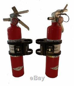 Tek208 Quick Release Fire extinguisher 1.75 Roll Bar mount (Black Anodized)