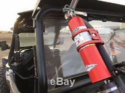 Tek208 Quick Release Fire extinguisher 1.75 Roll Bar mount (Red Anodized)