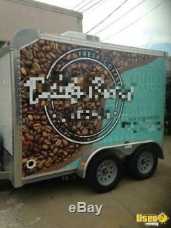 Terrific 2016 7' x 10' Cargo Expedition Coffee Concession Trailer / Used Mobile