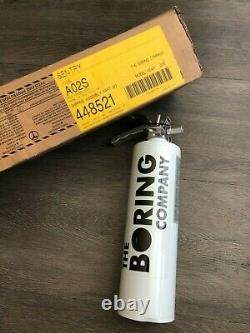 The Boring Company Elon Musk Not a Flamethrower Fire Extinguisher