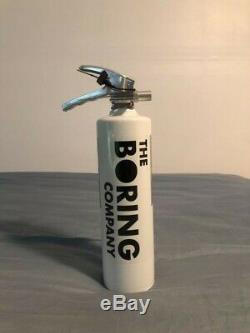 The Boring Company Fire Extinguisher BRAND NEW IN BOX, UNOPENED RARE