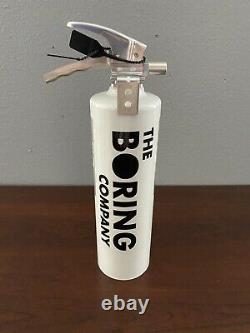 The Boring Company Fire Extinguisher for Not-A-Flamethrower BRAND NEW