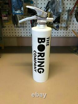 The Boring Company Fire Extinguisher for Not-A-Flamethrower BRAND NEW, UNOPENED