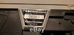 The Boring Company Not-A-Flamethrower +Letter +$5 +Fire Extinguisher NEW IN BOX