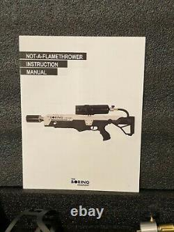 The Boring Company Not a Flamethrower + Fire Extinguisher Low Serial # 02286