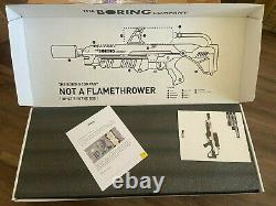 The Boring Company not a Flamethrower, Fire Extinguisher, Boring Hat! New