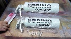 The Boring Company not a Flamethrower SEALED NEW with Fire Extinguisher, 5$ note
