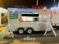 Turnkey Ready 2017 7' x 14' Covered Wagon Used Bakery Concession Trailer for S