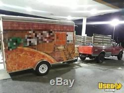 Used Single Axle Pizza Concession Trailer / Mobile Pizzeria for Sale in New York