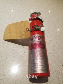 Vintage 1972 Dry Chemical Fire Extinguisher COLLECTIBLE Item