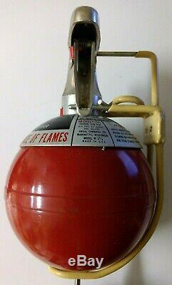Vintage Ansul Dry Chemical M2-1/2 Round Ball Marine Fire Extinguisher Never Used