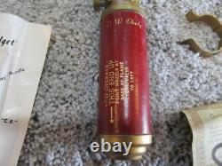 Vintage Antique C. W. Oberly Mighty Midget Fire Extinguisher (New in Box)