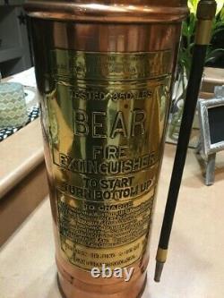 Vintage Antique Fire Extinguisher Hose! 3 Hoses! Black