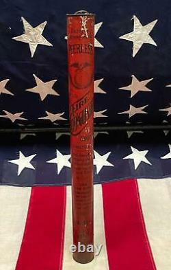 Vintage Peerless Antique Fire Extinguisher Dry Chemical Hanging Unused New York